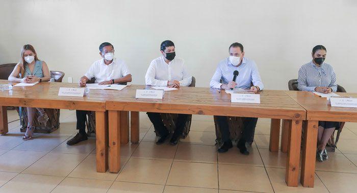Autoridades integran frente común contra el Covid-19
